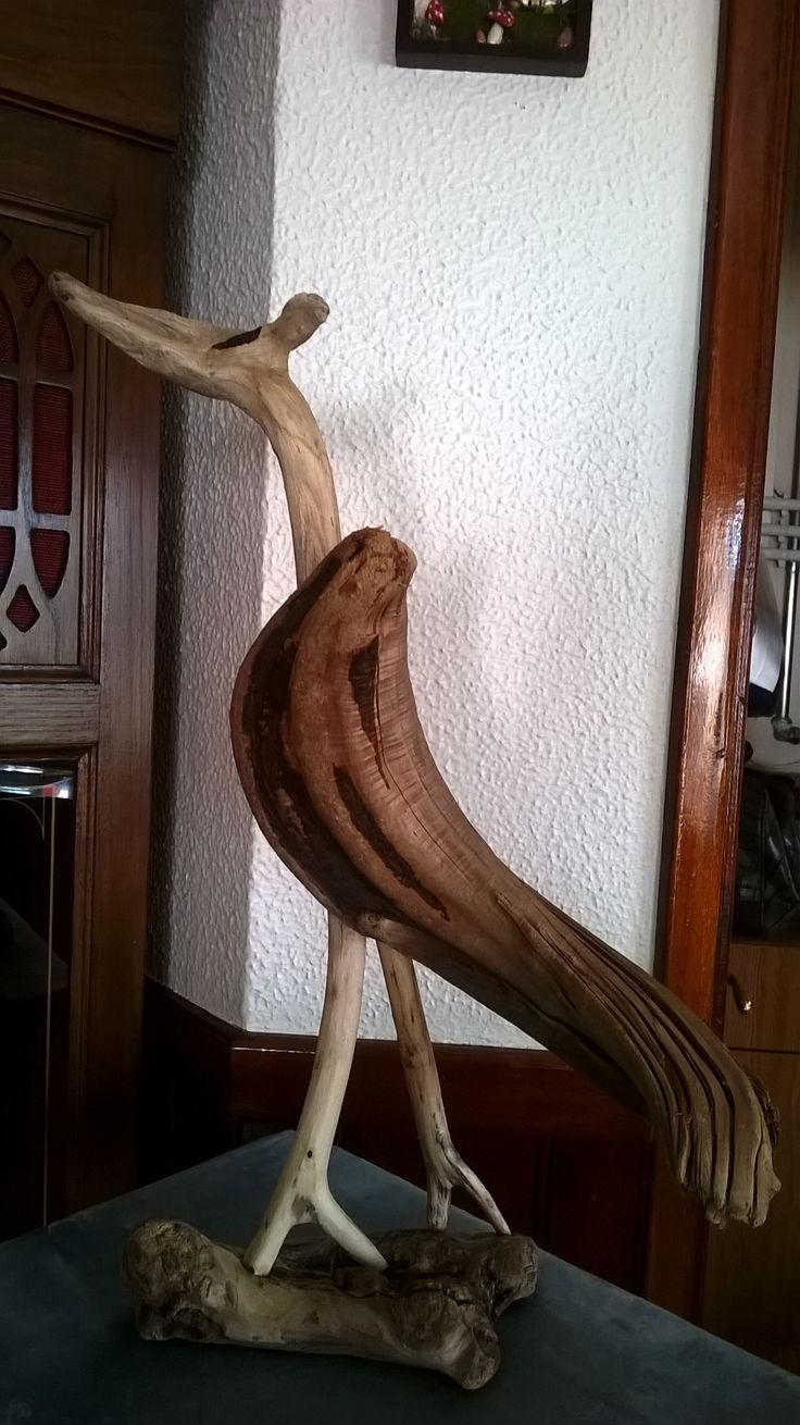 escultura / madeira da praia
