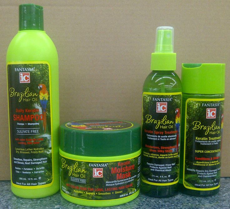 Fantasia IC Brazilian Hair Oil Keratin Hair Products