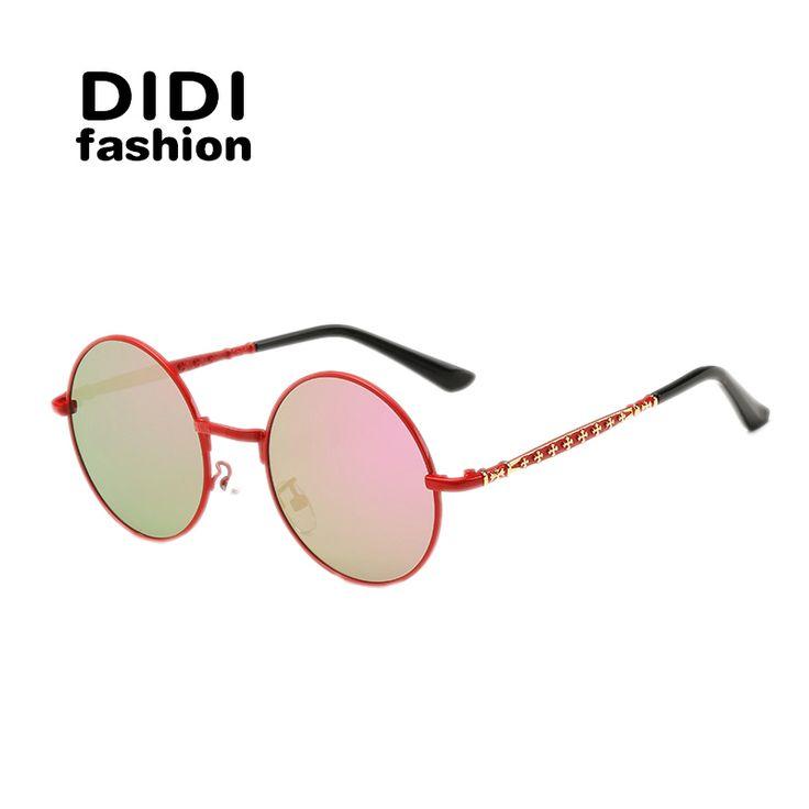 $9.86 (Buy here: https://alitems.com/g/1e8d114494ebda23ff8b16525dc3e8/?i=5&ulp=https%3A%2F%2Fwww.aliexpress.com%2Fitem%2FDIDI-2016-Carved-lacquer-for-kids-children-s-sunglasses-driving-Polarized-Lead-free-alloy-Sunglasses-uv400%2F32642984207.html ) DIDI Polaroid Baby Sunglasses For Children Round Vintage Carved Alloy Leg Pink Girls Black Boys Blue Green Kids Sunglasses H119 for just $9.86