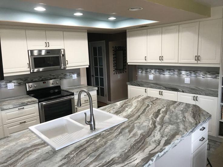 Superb Arizona Tile Customer, Gwen, Just Got Her New Fantasy Brown Satin  Countertops Installed! Time For The Backsplash! We Used Our Custom Blend  Program To Design ...