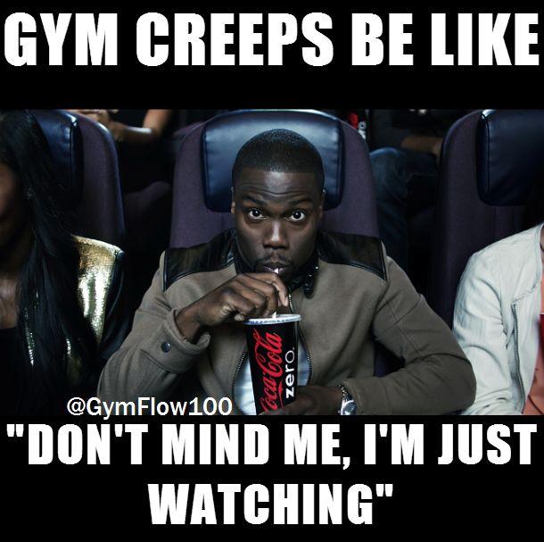 gym workout stalker