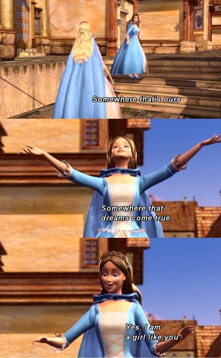 Barbie Princess and the Pauper - Girl like you