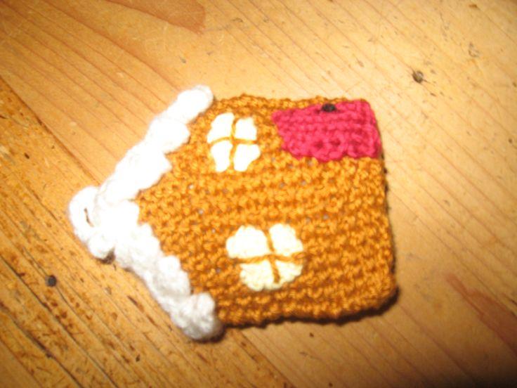 gingerbread huis gebreid