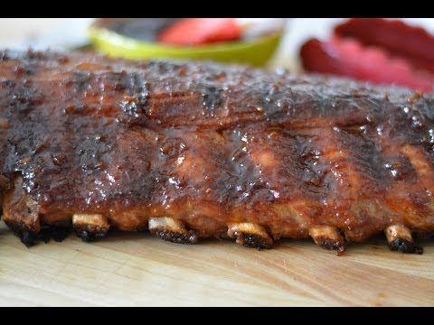 Receta Para Hacer Costillas A La BBQ - Cómo Hacer Costillas BBQ - Sweet y Salado - YouTube