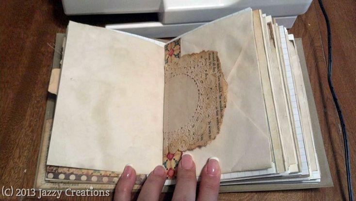Jazzy Creations...: Junk Journals! - Photo Heavy
