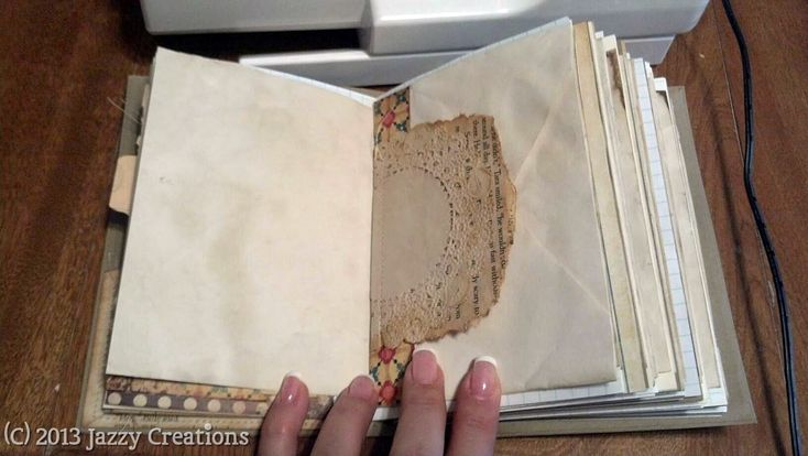 Jazzy Creations...: Junk Journals! - Photo Heavy