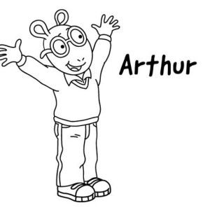 arthurs thanksgiving coloring pages - photo#19