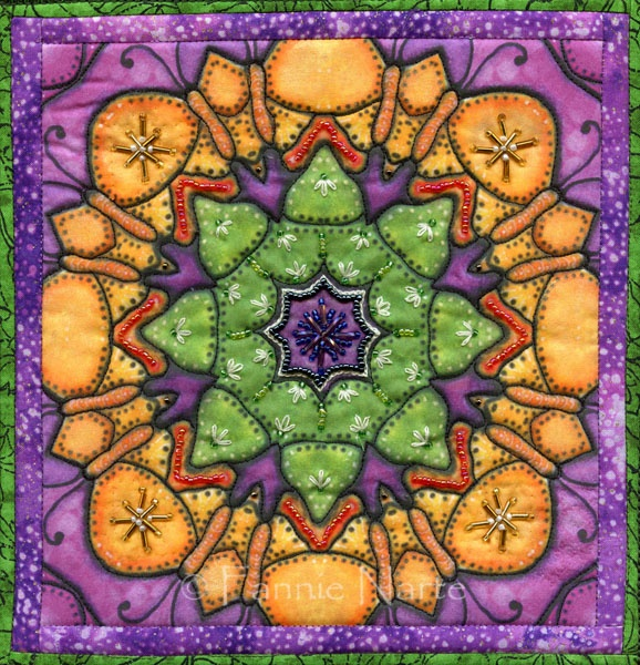 213 best Beaded quilts images on Pinterest | Quilt art, Beaded ... : painted quilt - Adamdwight.com