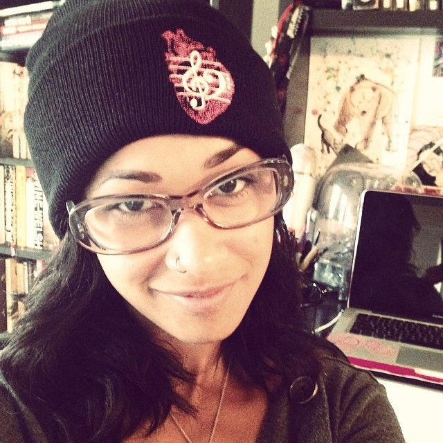 "@skindiamond, this is your 3rd time appearing as my #wCw, this time sporting our @HeartsXHarmony brand, the #ClassicCollection beanie. There should be an award given to you for this milestone . Follow her and receive a 10% discount off our online shop by entering the promo code ""iloveskin"" -