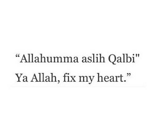 Never forget one of Allah's blessed names is al-Jabbar; the Healer of broken hearts. ➡