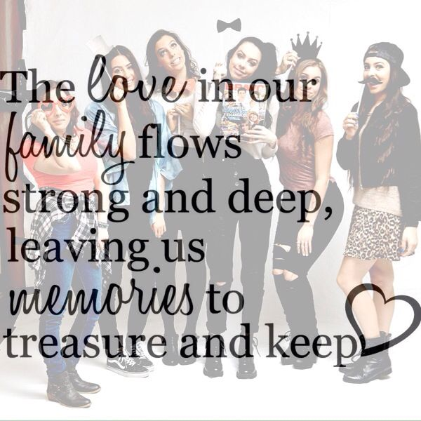 Cimorelli family edit credit: @alliecimorelli