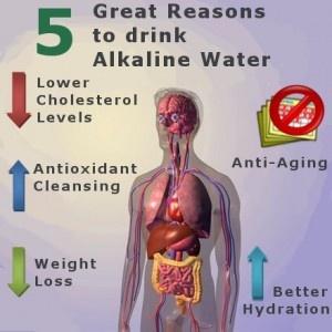 5 Healthy Reasons to drink Alkaline Water  http://www.lifeionizers.com/blog/news-updates/general/5-reasons-drink-alkaline-water/