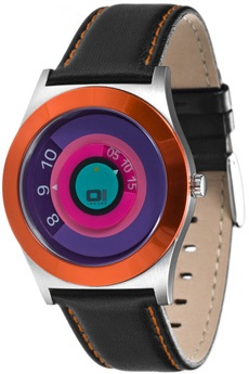 The one: Reloj de colores  http://www.tutunca.es/reloj-spinning-wheel-naranja-an06g02