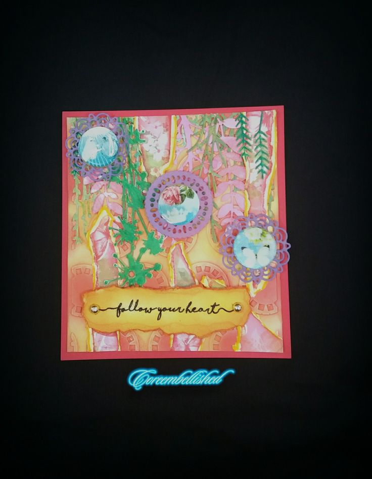 #papericious  #collagecircles  #layout  #coreembellished  #card #handmade
