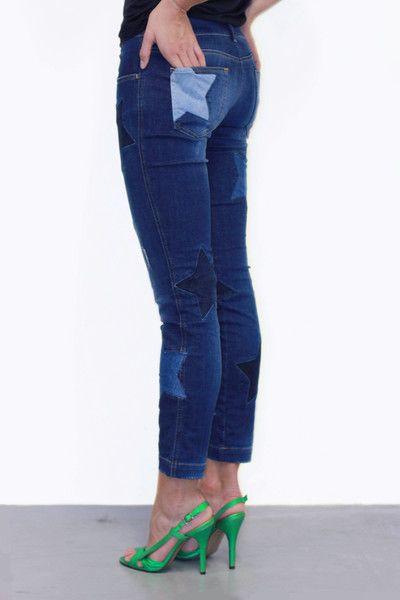 Vintage spijkerbroek met sterren - Dolce & Gabanna