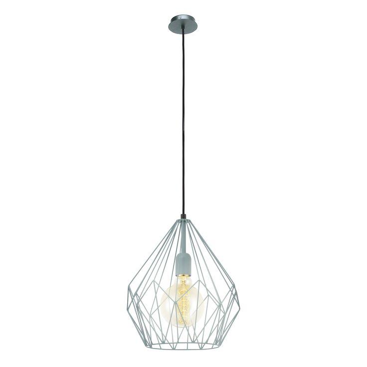 Ce va poate ajuta mai mult sa creati un decor industrial decat lampa Essen de culoare verde mint? Lampa este realizata din metal si are un finisaj de culoare verde mint. Abajurul este unul inovativ extrem de modern, care lasa sa se intrevada toate detaliile, si care descrie forme geometrice spectaculoase.