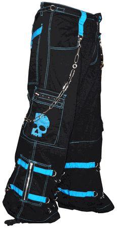 "Tripp NYC ""Electro Skull"" Pants (Blue/Black)"