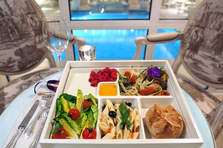 Light meal available in our Spa... Perfect before wearing a bikini, isn't it?