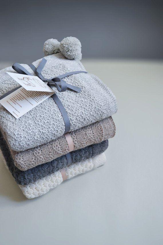 Alpaca Wool Blanket 100 Cream White Blanket Baby Blanket Alpaca Gift Knit Baby Blanket Knit Wool Blanket Baby Shower Gift Baby Girl Gift Knitted Baby Blankets Alpaca Wool Blanket Baby Girl