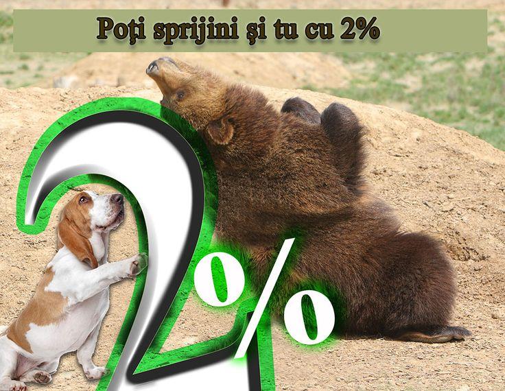 2%  pentru animale