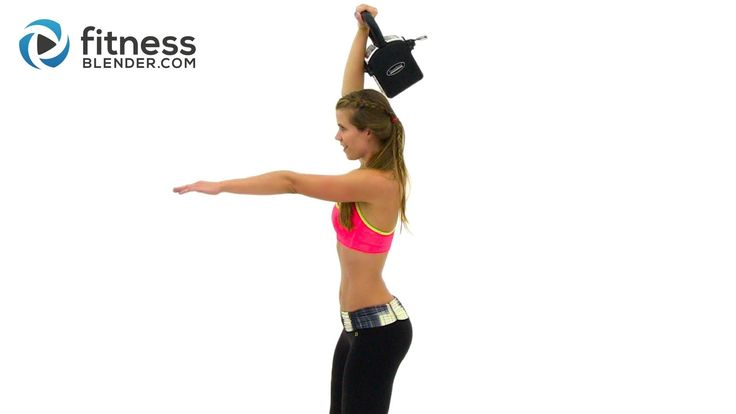 Quick and Fearless Kettlebell Cardio Workout - Ultimate Fat Burn Workout...