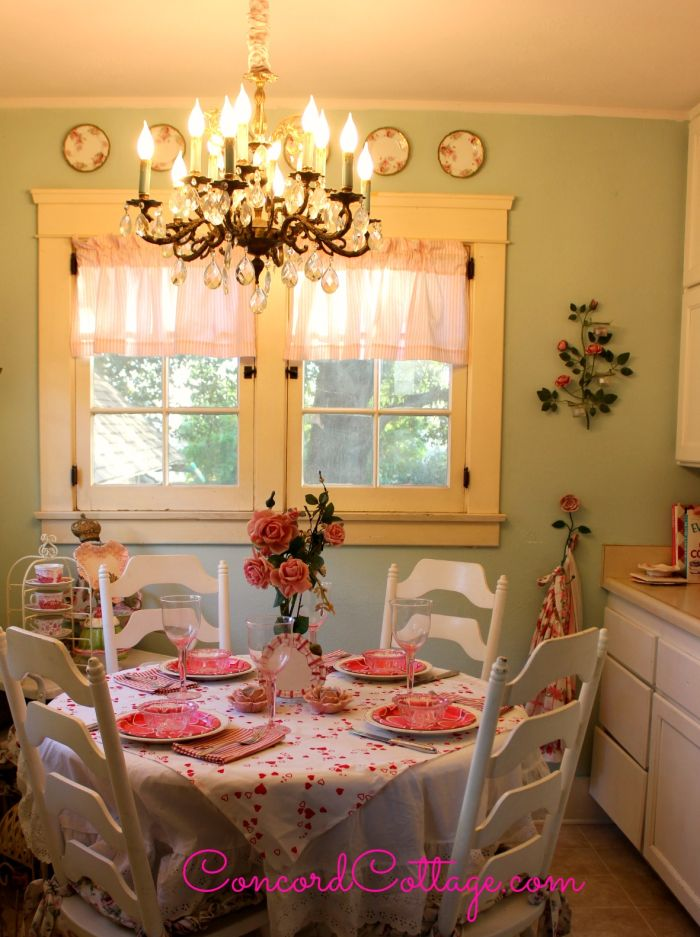 How to make a Chandelier Chain Cover on the blog www.ConcordCottage.com