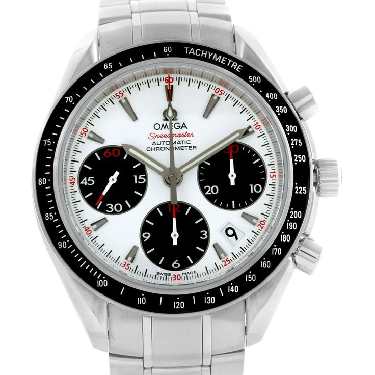 Omega Speedmaster Day Date 40mm Watch 323.30.40.40.04.001 Unworn