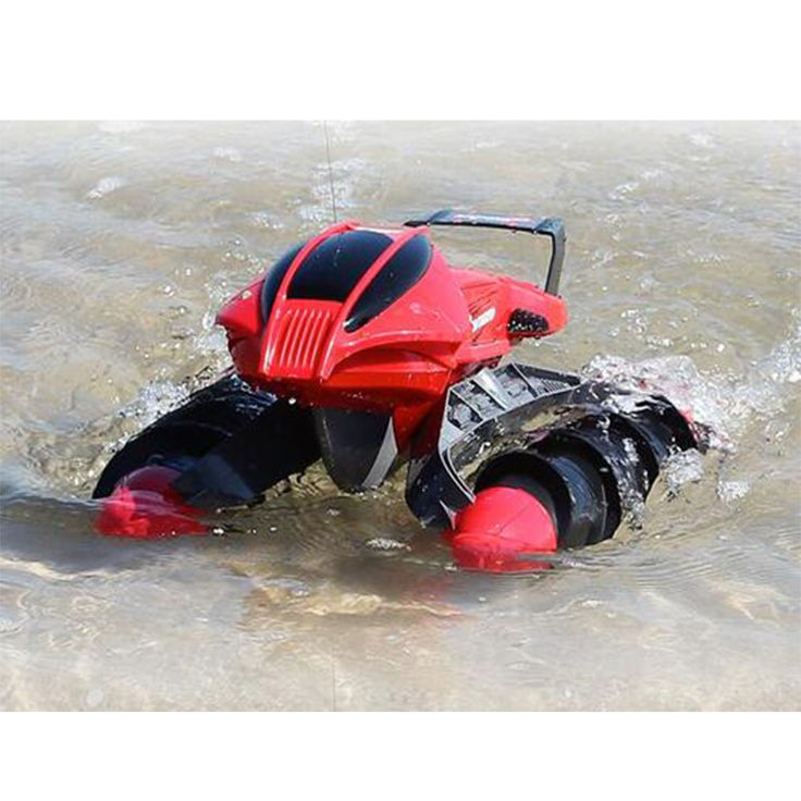Electric RC Car toy-thread push Beach amphibious remote control boat remote control kids car toy > Newest remote control toys shop