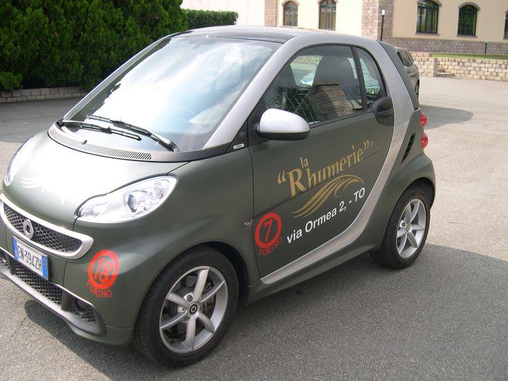 "Smart ""La Rhumerie"" #smart #larhumerie #pimpmycar #wrapcar #coolcar #dramcar"