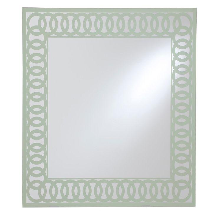 Decorative Wall Mirror Breeze Point Lt Sage