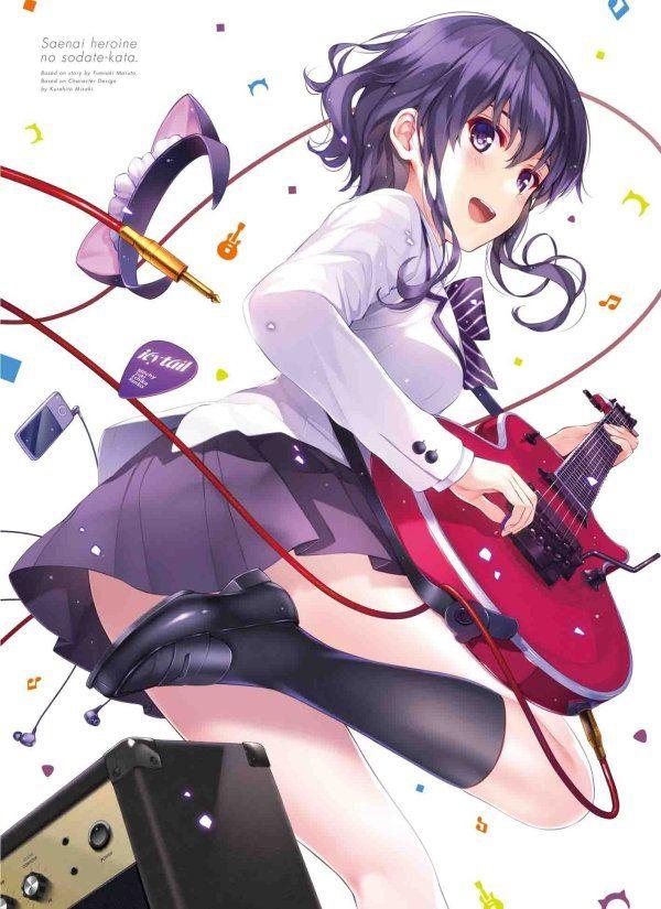 Final Japanese 'Saenai Heroine no Sodatekata' Anime DVD/BD Cover Art Revealed | The Fandom Post