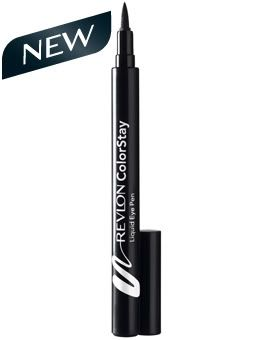 Mac Penultimate eyeliner ($16.50) duped by Revlon's Colorstay liquid Pen ($8)