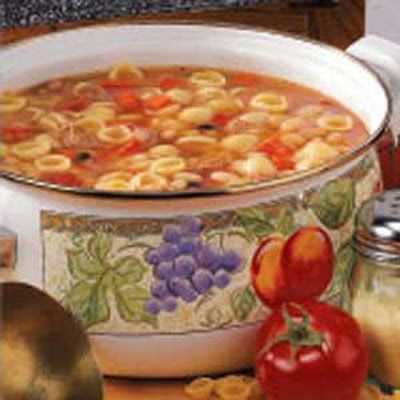 White Bean and Pasta Soup Recipe   Recipes   Pinterest