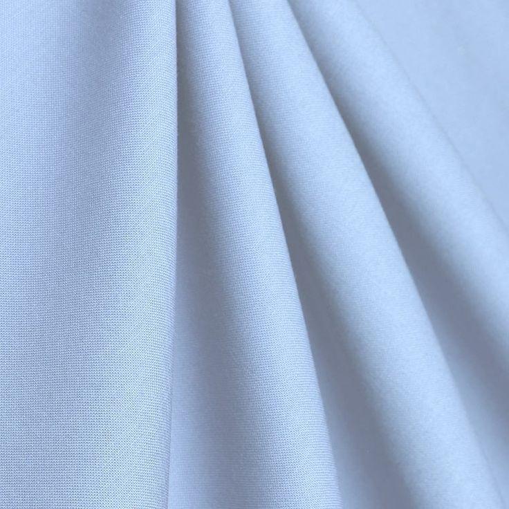 Robert Kaufman Candy Blue Kona Cotton Broadcloth Fabric - Image 2