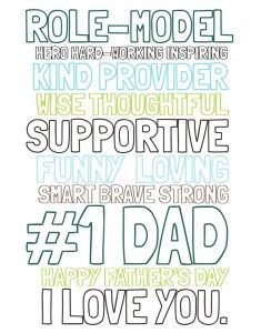 FREE Father's Day Printable Subway Art | www.moritzfineblogdesigns.com