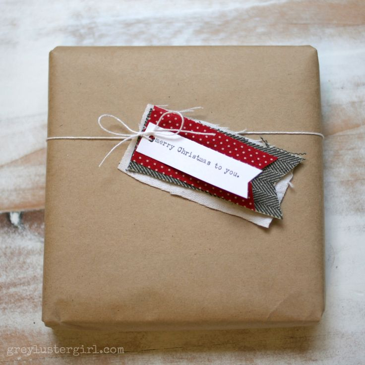 Easy Gift Wrapping Ideas with Kraft Paper -