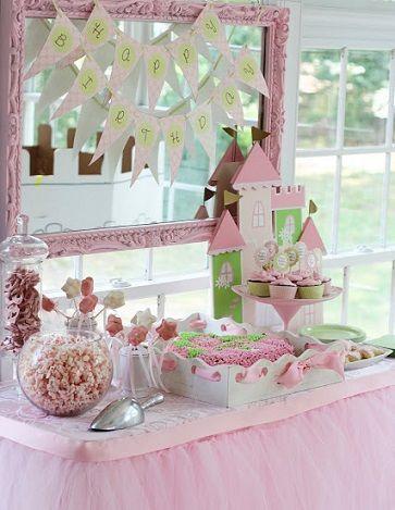 Ideas para una auténtica fiesta de princesas
