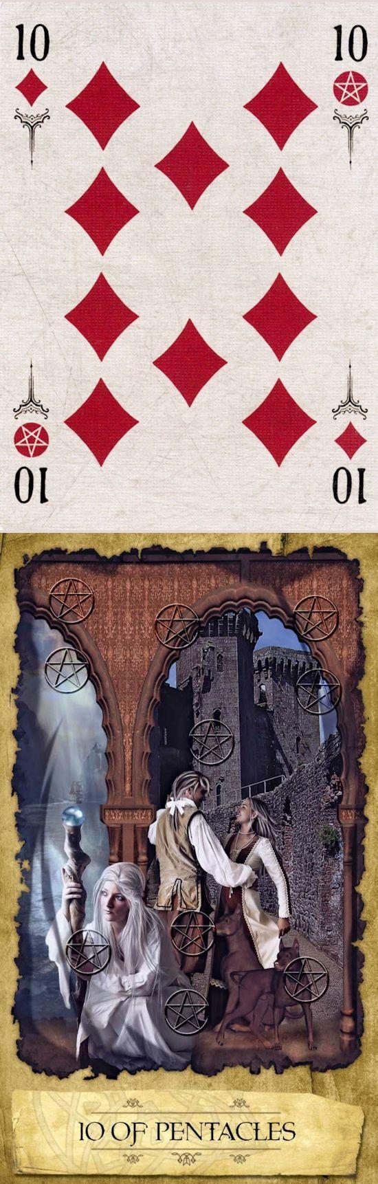 Ten of Pentacles: legacy and failure (reverse). Arcana Tarot Tarot deck and Mystic dreamer Tarot deck: tarot free tarot, tarotkindle vs tarottablecloth. The best predictions anchor chart and psychic readings questions.