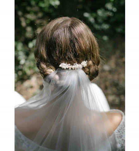 17 coiffures de mariée avec un voile approuvées par la rédac !