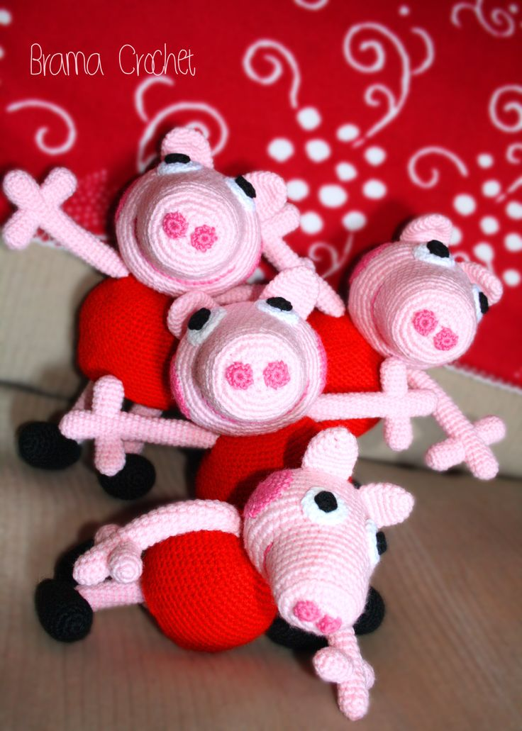 Free Amigurumi Patterns Star Wars : Peppa Pig! by Brama Crochet (amigurumi doll, peppa pig ...