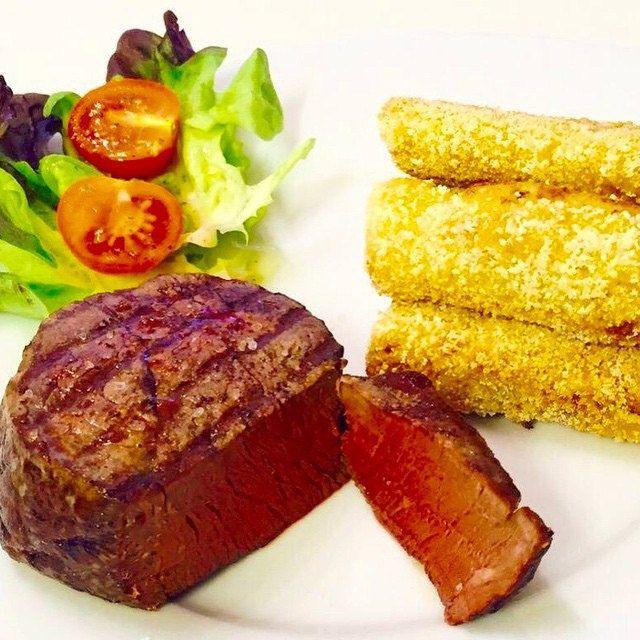 #delicious #selfmade #kroketten mit Canadian Bison Tenderloin #steak #fingerfood #F4F #nomnom #s4s #Schweiz #food #fresh #foodblog #fleisch #FoodPorn #french #foodblogger #essen #enjoy #paniert #frittiert #DIY #bison #recipes #rezepte #rezeptideen