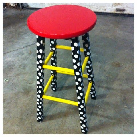 Teacher Stool DIY - Shenanigans in Second Grade