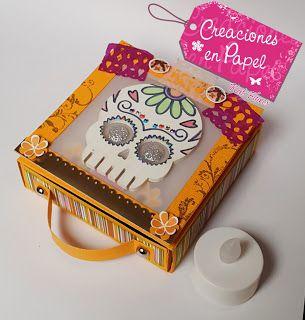 Creaciones en papel con Katia Valenzuela: Mini altar de muertos