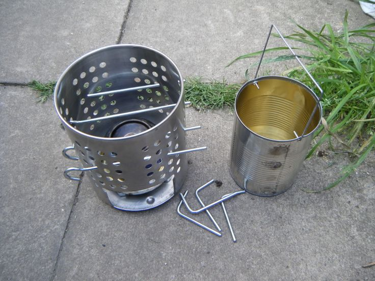 17 best images about diy camping stoves on pinterest for Diy camp stove
