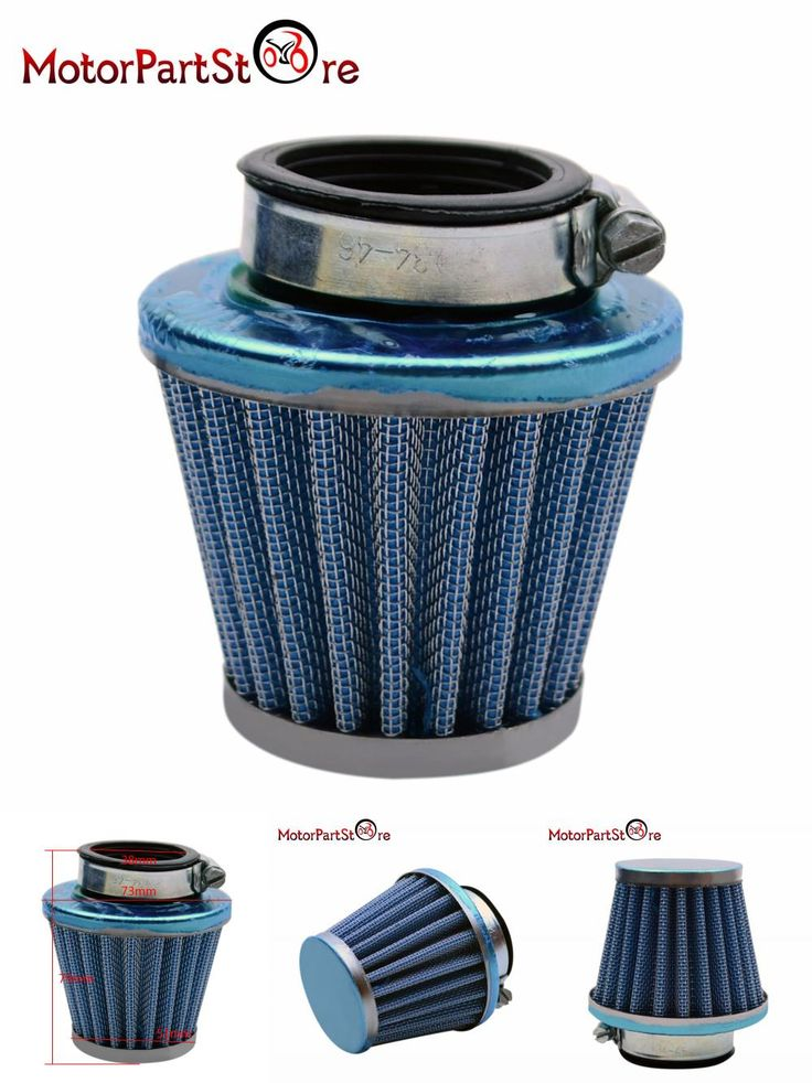 [Visit to Buy] Blue 38mm Performance Air Filter for 50cc 70cc 90cc 110cc 125cc Pit Pro Dirt Bike Motor Moped Scooter Motorcycle $ #Advertisement