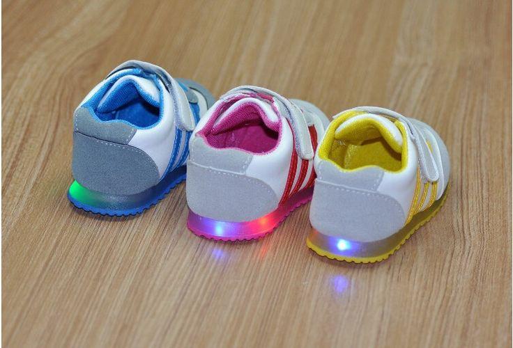 Baby Girl LED Light Shoes