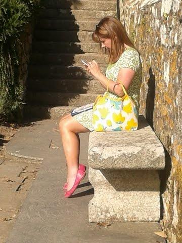 caught tweeting!