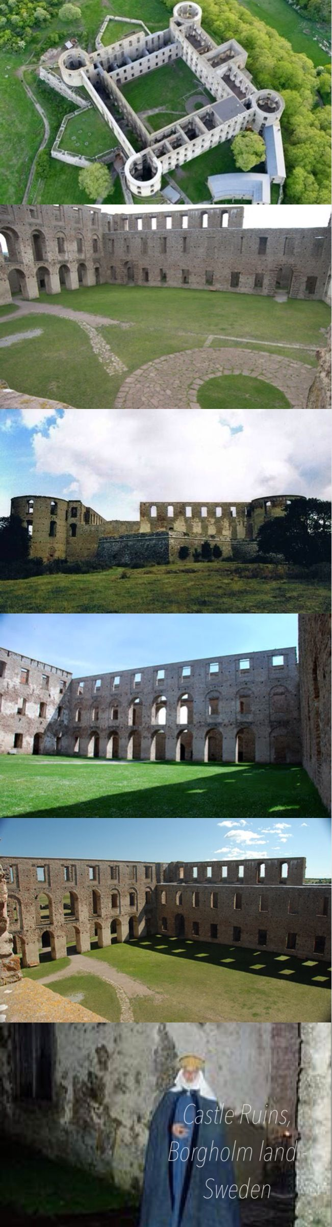 "Borgholm Castle - 800 Years of Swedish History  Borgholm Castle, ""the most beautiful ruin in Scandinavia"", is one of those examples of architecture, that leaves hardly any visitor unaffected."