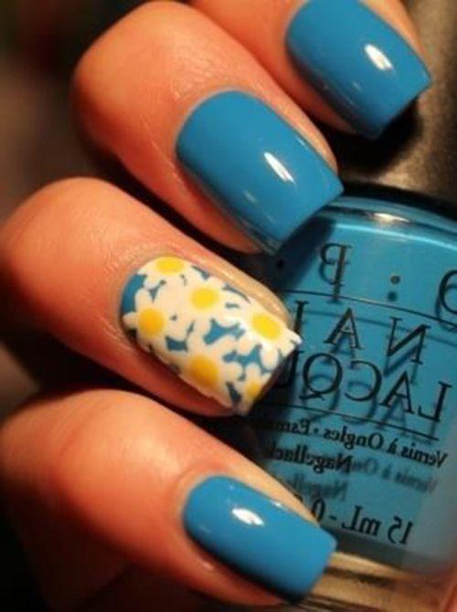 Its beautiful!18 Amazing Flower Nail Designs