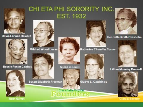chi eta phi sorority incorporated founders| chi eta phi was founded due to concerns of founder about the ...